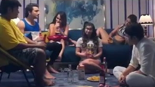 3 Sexy & Sexy Gorgeous Beauties Fuck With Sexy House-servant (Hindi)