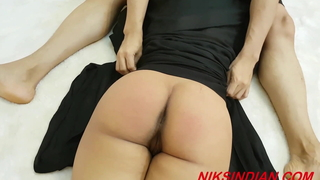Muslim woman fucked rough round Ass and Pussy hard by Hindu priest