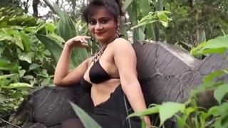 Nisha fashion carrier bag strip saree