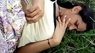 Indian mom outdoor fuck in farm
