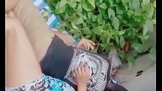 Indian Men and Skirt caught fucking in the air snug jungle