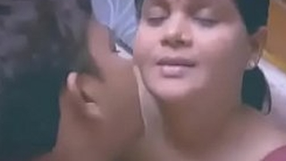 Chubby Indian   Desi Lady Relating to Junior Alms-man