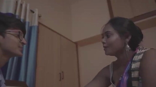 Desi Kamvali Bay Sunita Has Gonzo sex with Virgin Boy