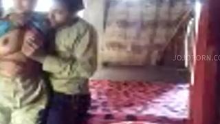 Indian NRI Powered Bhabhi Steadfast fuck scandal Full photograph -- jojoporn porn