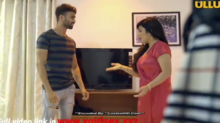 Indian hot milf bhabhi fucks with boy feigning of daughter