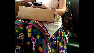 Bhabhi bouncing boobs in car