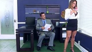 Brazzers - (Layla London) - Big Tits at Work
