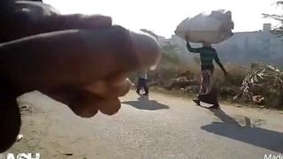 indian dick flash cumshot aunty workerdesi