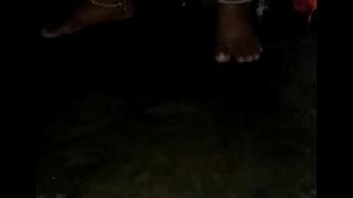 Marathi bhabhi urinating