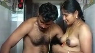 Indian pregnant wife unveil