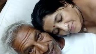 Old man coupled with bhabhi suck dick