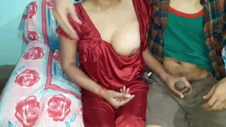 Hot sexy new indian Bhabhi, enjoying sex with whilom before boyfriend