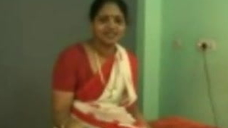 Lifeless mix, red saree, Lifeless pavadai,