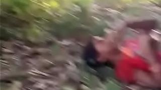 Indian girl outdoor sex