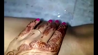 last bachelor party of an India bride before marriage