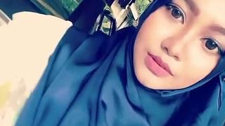 hijab chick dimobil on the move :_ make oneself heard pornography  video yxnczehk
