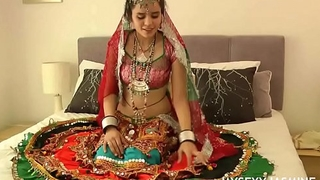 Gujarati Indian Order of the day Babe Jasmine Mathur Garba Dance
