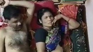 MATURE INDIAN COUPLE Shafting Blear