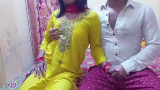 Girl has hot sexual intercourse with a friend (Indian)