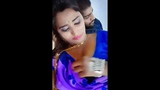Indian Bhabhi Has Romance With Beau