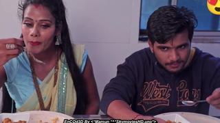 Unsatisfied wife having sex far team up around saree