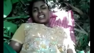 Desi girl first time fuck in jangol with village girl