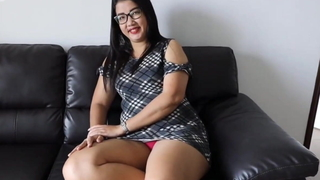 Buxom Asian With a Big Contraband Takes it all