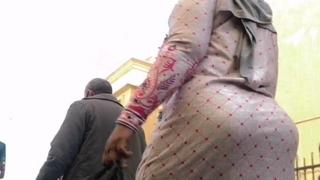 Pakistani chick Abaya demonstrates say no to ass wearing a hijab