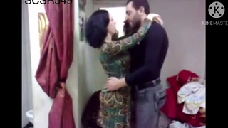 Hot coupled with glum Muslim wife fucked by the brush bf