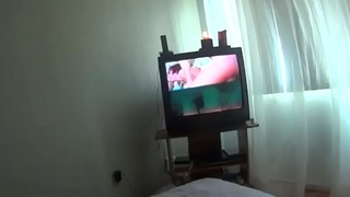 Me&amp_neighbor Mrs Chawla-shower to bed&amp_sofa watching porn movie multi sessions