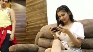 Desi girl enticed by their way teacher