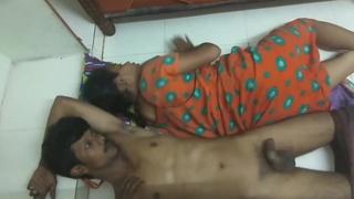 Desi Maid and Her Husband Graveolent Fucking