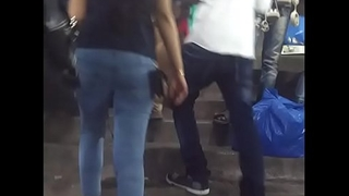 indian tight ass in jeans