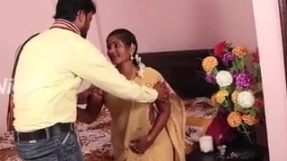 First Night Scene of Married Indian Couple – Desi Synchronous Movie