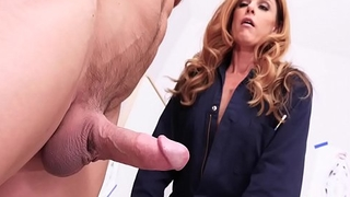 India Summer Close by Seduces Her Denuded Leading lady Model