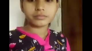 Desi Indian municipal cute girl bowels and muff posture