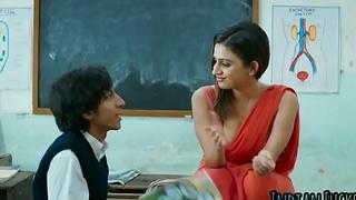 Indian glum teacher fuckss with big cock student
