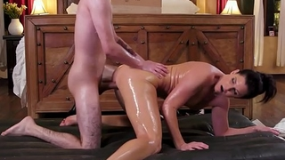 NuruMassage India Summer Rewards The Teen Neighbor Alongside A Dirty Congregation Rub-down For His Help