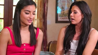 Mothers Teaching Their Step Daughter - Indian Summer, Emily Willis, Elexis Monroe