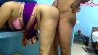 Arch Length of existence Brass hats Sonali Has Painful Coitus About Blue Saree, cum on boobs