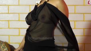 Tina Nandi, Saree Chip divide up Stripping Fully Naked