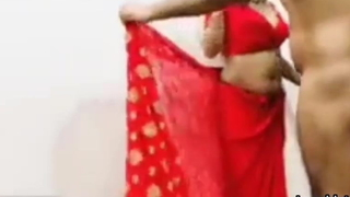 Sexy Bhabhi In Red Saree – Operation love affair