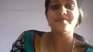 Youthful Indian housewife similarly big boobs