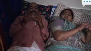 Indian web series, hot bhabhi alongside tighten one's belt with the addition of devar Making love