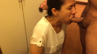 Korean Mummy with Indian uncle sucking & fucking