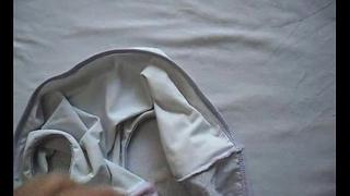 Cum on Marya&acute_s dirty panties 003
