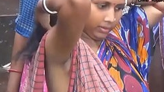 Indian women dark UNDER Hands