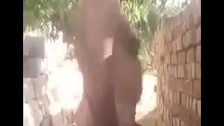 indian oldman showing on cam