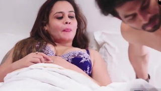 Indian sexy bhabhi has sex with plenipotentiary and son