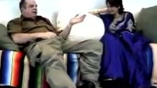 Cute NRI sweeping agreed close to have a go sex not far from white old cock